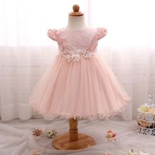 puffy dresses designer frocks kids birthday party wear fashion 2-8 girl children frock design for 2 to 6 years old girls
