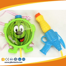 Fruit series hot selling funny speed spray games water squirt gun