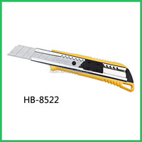 utility snap off blade cutter knife with screw lock