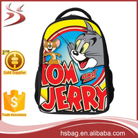 2016 China Supplier School Backpack For Kids,Tom And Jerry Backpack