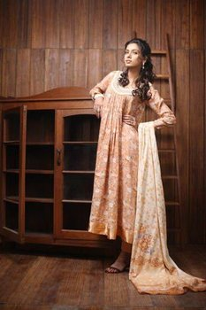 Firdous linen Cotton Lawn