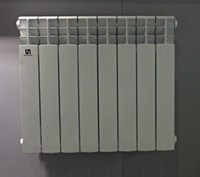 Quality-assured European style heater radiator