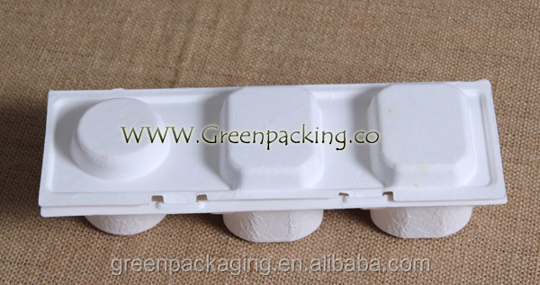 Compostable cosmetic products package boxes
