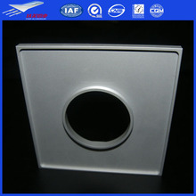 CNC machining aluminum bar,white anodized aluminium square hollow plate6063