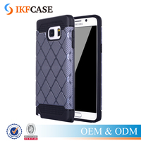 Newest Hybrid Beautiful Mobile Phone Back Cover For Samsung Galaxy Note 5 Rugged Slim Armor Phone Case