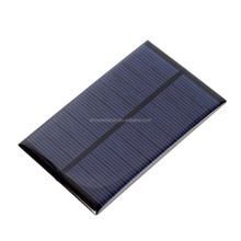 5V 1.2W Monocrystalline Silicon Epoxy Solar Panels Module Kit mini Cell for Charging Cellphone