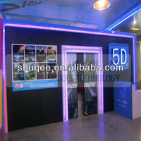 Different decoration 5Dcinema,middle theater 5D,whole 4D cinema system manufacturer