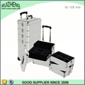 Factory professional oem cheap aluminum case with wheels make up case