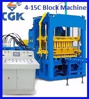 CGK solid setting brick block making machinery bricks forming machine price 4-25 Price