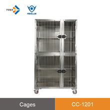 CC1201 Brand new customizable 304 stainless steel large vet cat breeding cages