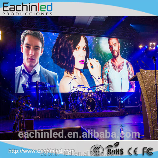 Ultra thin P3.9 indoor rental LED screen /pantalla led
