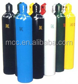 Dia 232mm 50L Oxygen Cylinder/ Seamless Gas Cylinder Tank