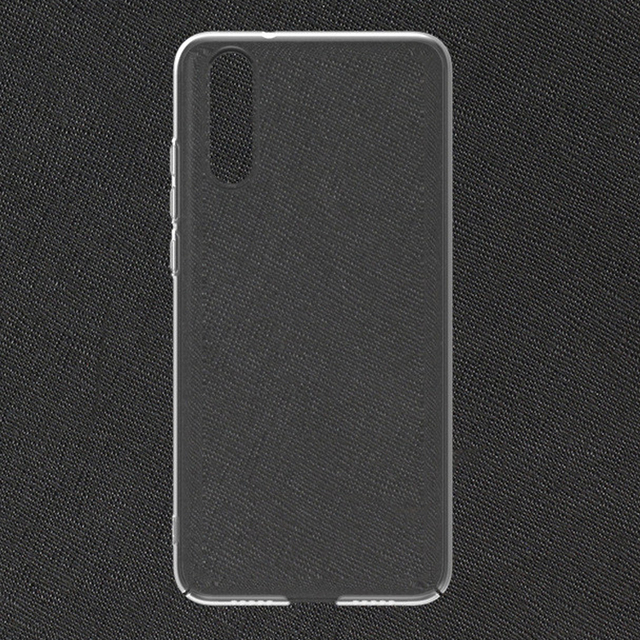 New Cell Phone Case for Huawei P20 Crystal Clear Hard Plastic Back Cover