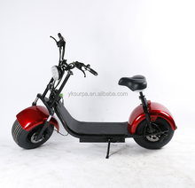 new style citycoco mobility fat tire 2 seat electric scooter 2 person 2017