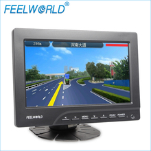 7inch HDMI RCA VGA car auto-rearview function hd headrest monitor