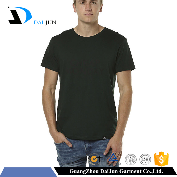 Daijun oem men short sleeve hot sale inexpensive plain t-shirts
