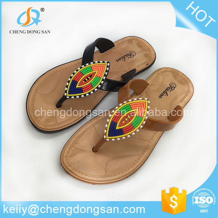Wide application fancy picture female india ladies soft chappal