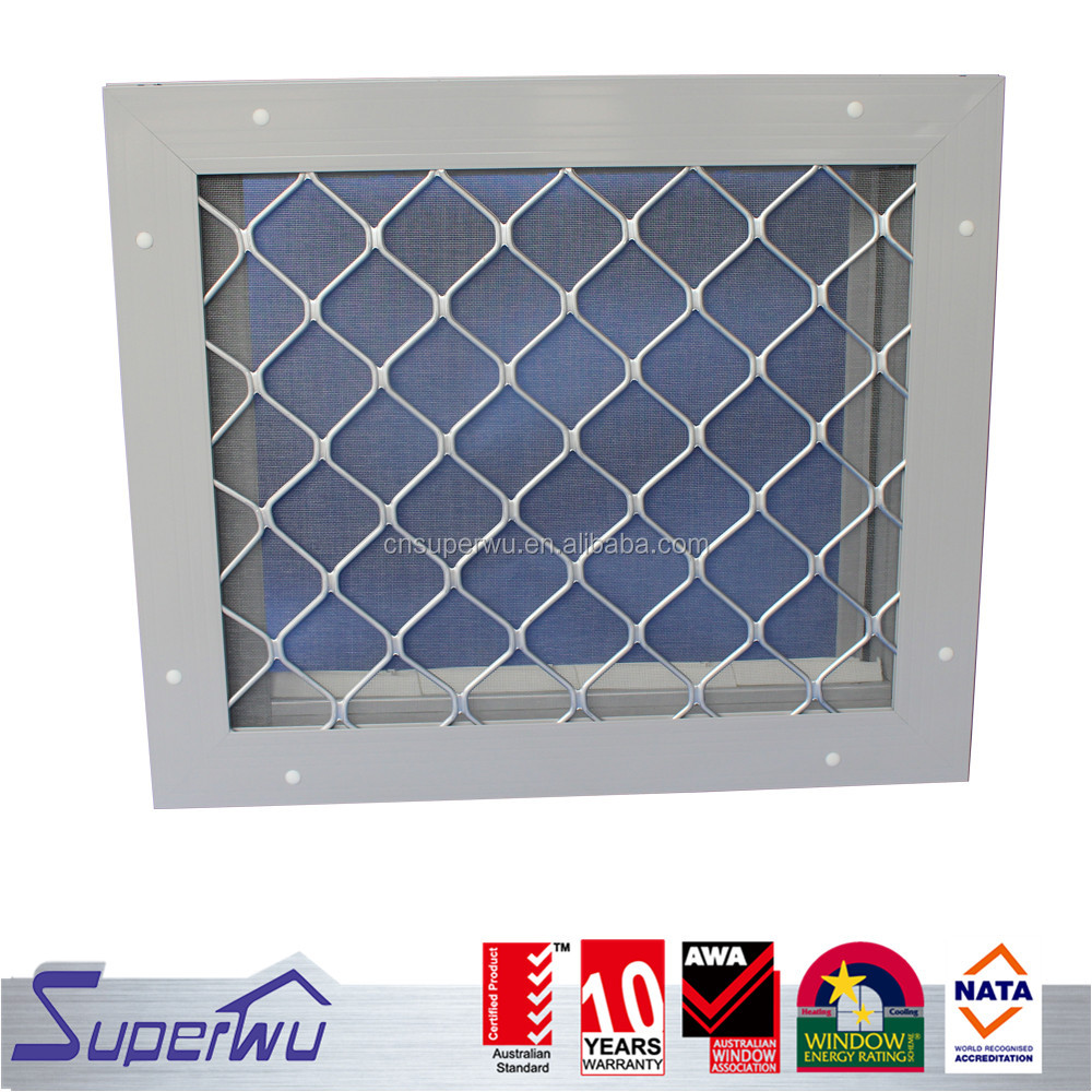 Aluminum window louver prices with high quality grid for commercial house cheap price louver window