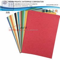 Fancy Paper colourful embossed leather grain paper
