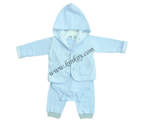 100% cotton baby girl winter coat