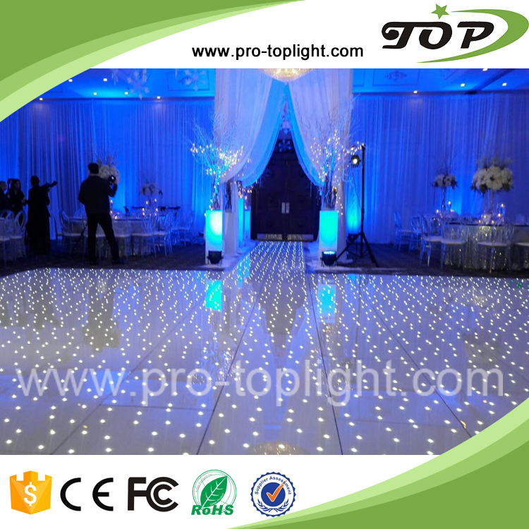 Sparkle Acrylic Wedding Led Dance Floor