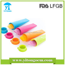 Silicone Snack Cup Ice Pop Mold Ice Cream Mold