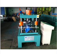 Manual / Automatical Decoiler Top Hat Cap / Ridge Flashing Tile Roll Forming Machine