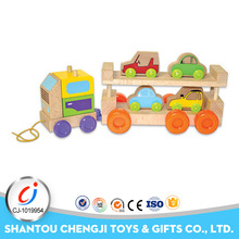 2017 New arrival funny intelligence wooden train toy for kids