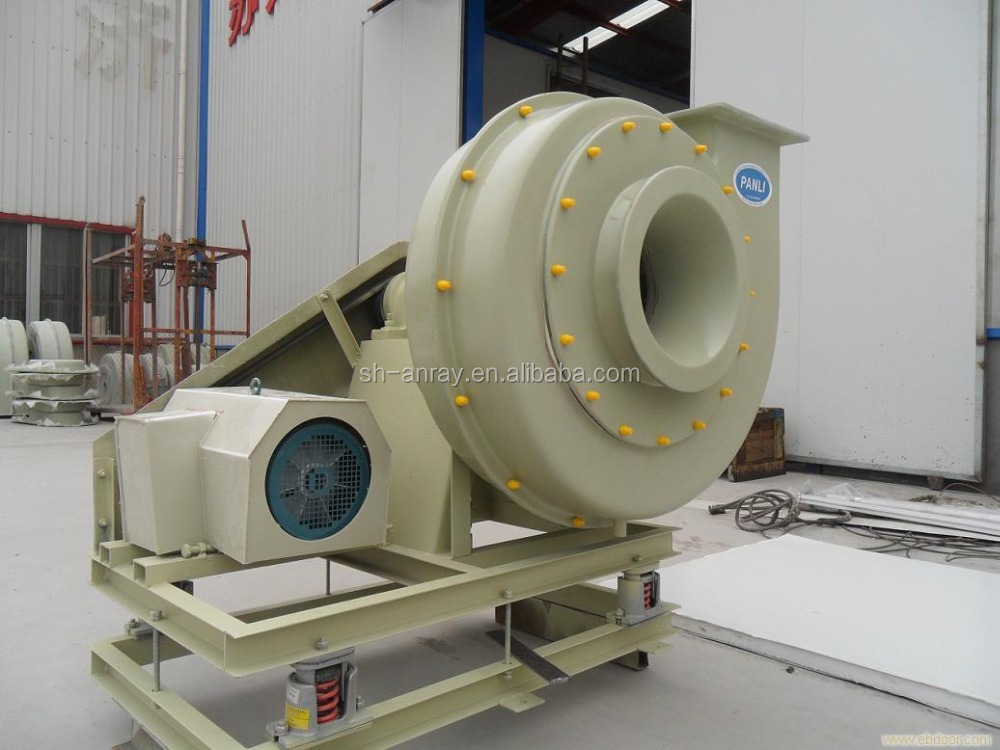 SHAFT/belt drive industrial use wholesale IRON/FRP Centrifugal Air Blower/FRP exhaust fan