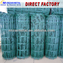 Wire Green Picket Flower Bed Fence