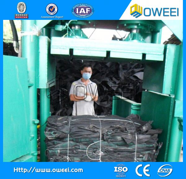 Direct factory Automatic packaging baler for waste paper 10t