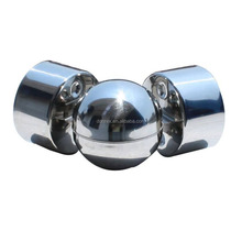 stainless steel end caps for round bar