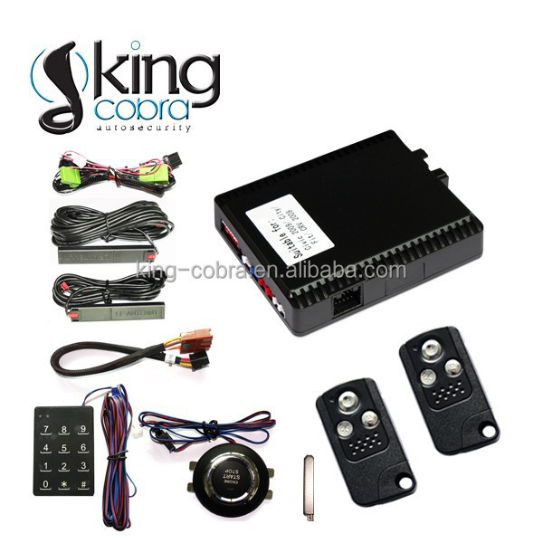 2014 newest model! PKE passive keyless entry car alarm system especially for Honda civic to simplify installation