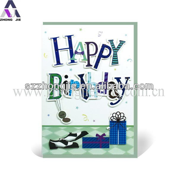 Handmade happy birthday card birthday invitation card