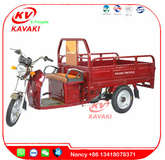 KAVAKI Manufacturer sale 900W20A electric cargo tricycle bajaj three wheeler auto electric rickshaw price