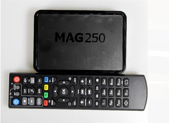 Popular selling MAG 250 Arabic Indian Europe Linux arabic channels IPTV TV Box