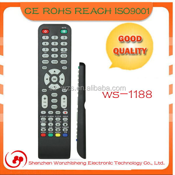 universal programmable ir remote control for set top box