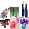 2016 fashion custom print neoprene beer wine bottle holder