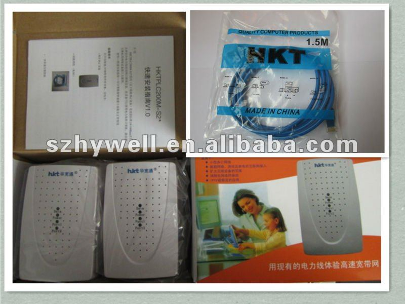 Communication Power Line Adapter 200Mbps