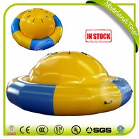 Best Quality NEVERLAND TOYS Funny Inflatable Pool Toys Giant Yellow Peg-Top Inflatable Water Toys For Sale