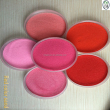 Pink/Blue Decorative Coloured sand for DIY flowing sand art