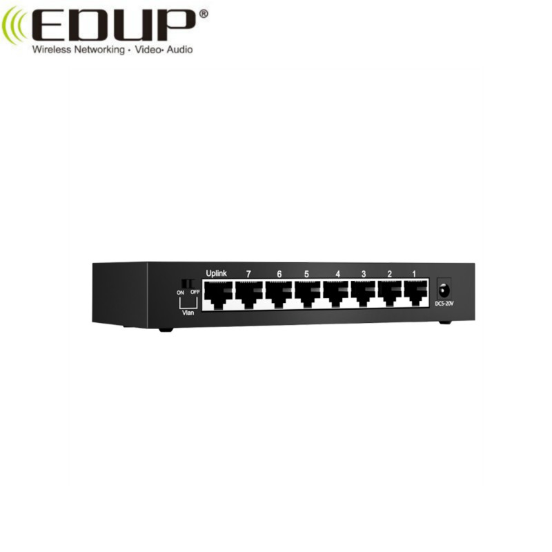 EDUP EP-SG7810 new arrival 8-Port metal 10/100/1000M Switch