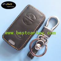 TopBest leather car key case for toyota key fob case car key wallet