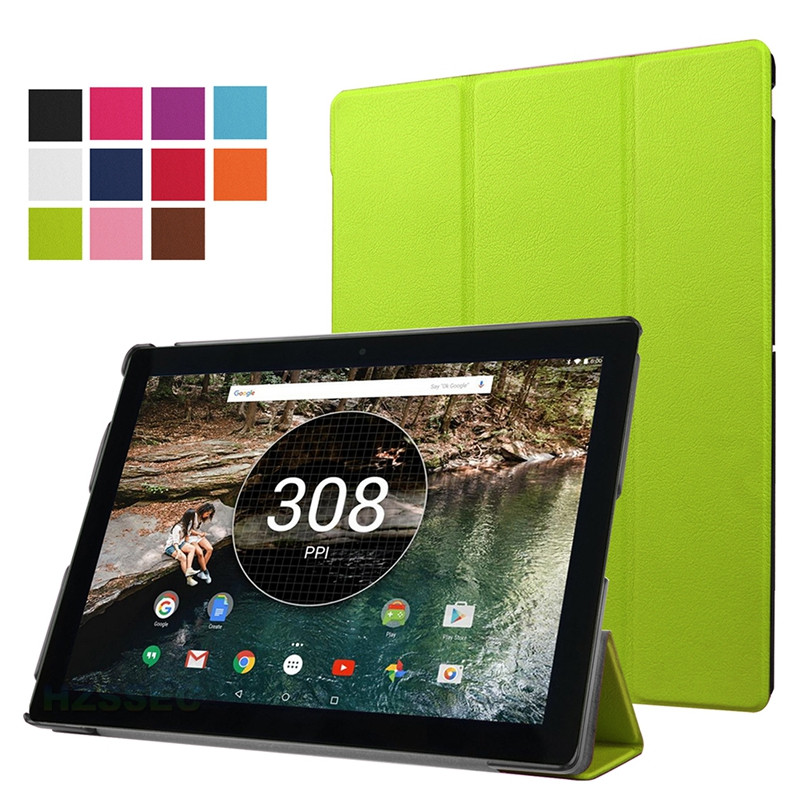 Shockproof 10.2 inch tablet hard case for Google Pixel c hard leather flip case