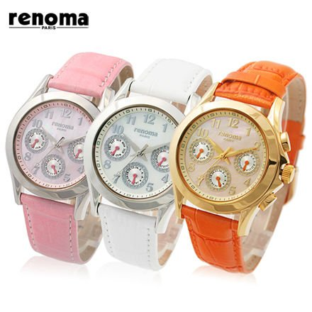 Renoma multi function womens watches RE-025