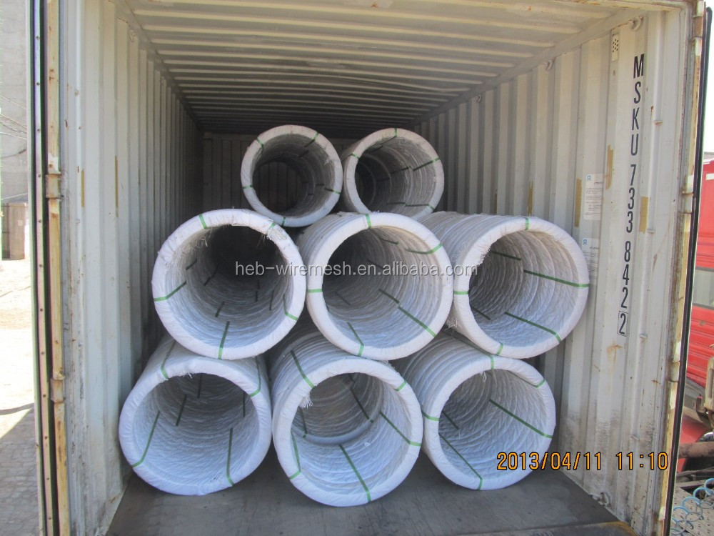 High Carbon Oval Steel Wire Steel Oval Farm Fence Wire