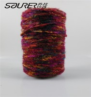 polyester blended ring spun fancy yarns for sewing