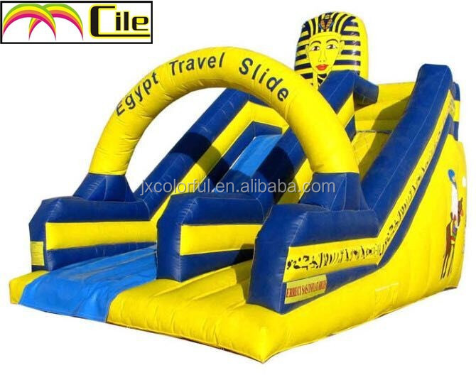 CILE 2015 Newly Arrival Eye-catching Inflatable Water Slide with Arch
