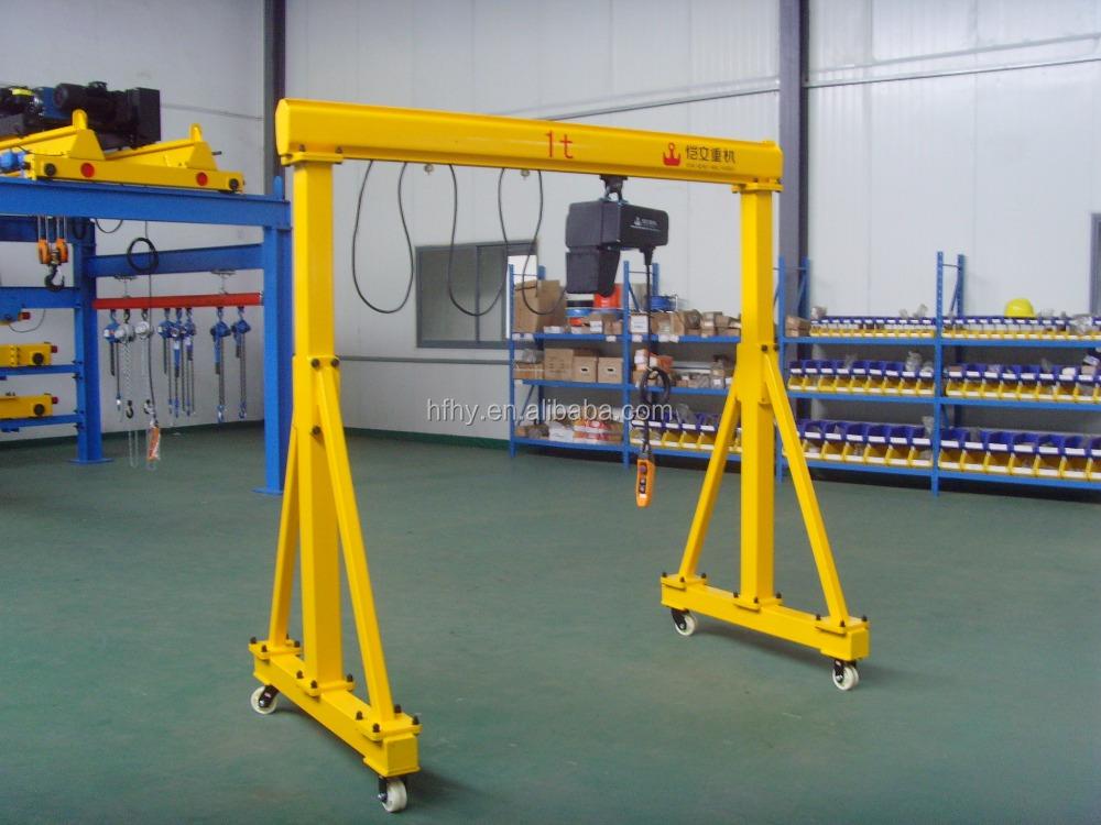 Overhead Crane 500kg : Small mobile gantry crane mini