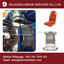 plastic bus chair plastic stadium seat chair blow molding machine